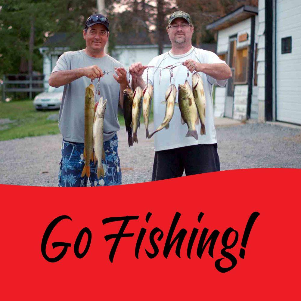 Fishing Lake Nipissing Ontario